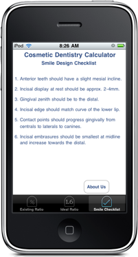 Smile Design Checklist